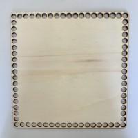 Kosár alj - Szögletes 25x25 cm