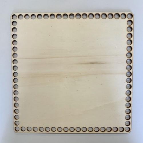 Kosár alj - Szögletes 15x15 cm