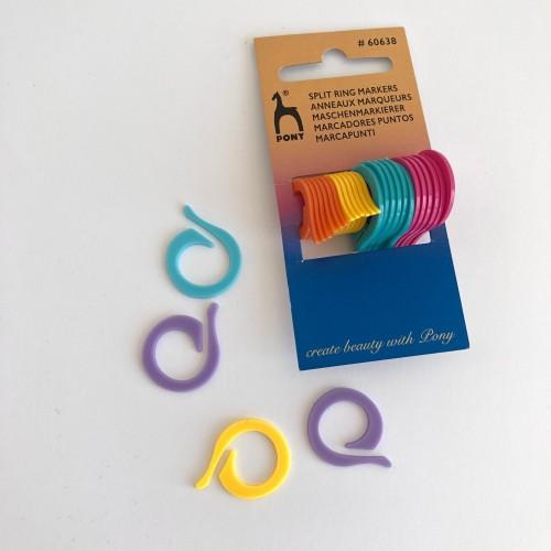 Kötésjelölő gyűrű 24 darab, PONY