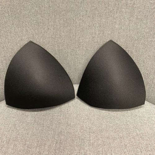 Melltartó kosár fürdőruhába mérete S, pár - fekete