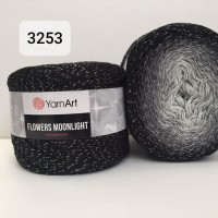 YarnArt Flowers Moonlight 260g, 3253