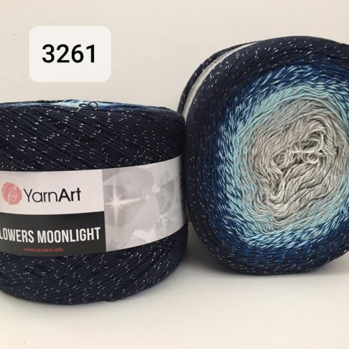 YarnArt Flowers Moonlight 260g, 3261