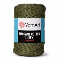 YarnArt Macrame Cotton Lurex